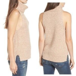 NWT Madewell Cutaway Turtleneck Sweater